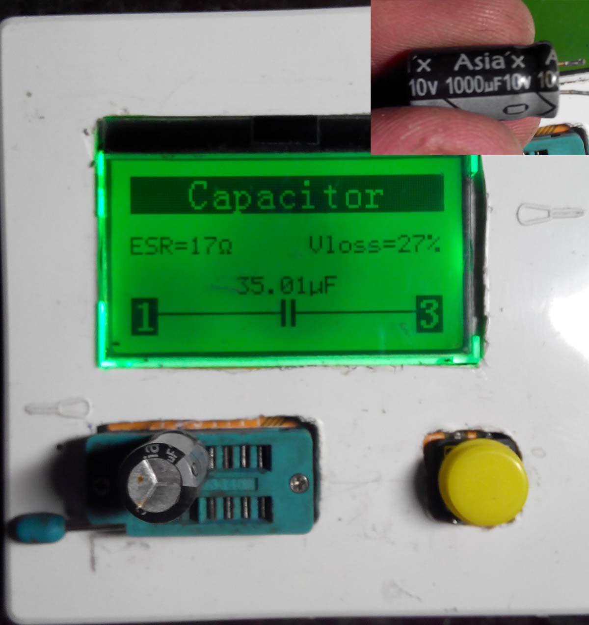 Проверка конденсатора. Прибор для 25