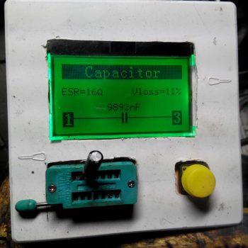 Завышенный ESR конденсатора