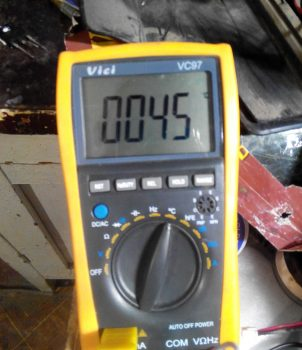 температура радиатора BU808DF