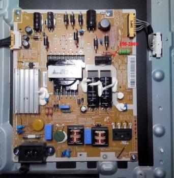 Блок питания UE32F5000AK. 200в вместо 130-140в.