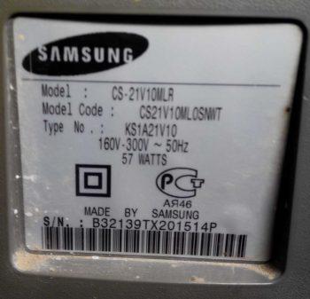 Samsung CS-21v10MLR