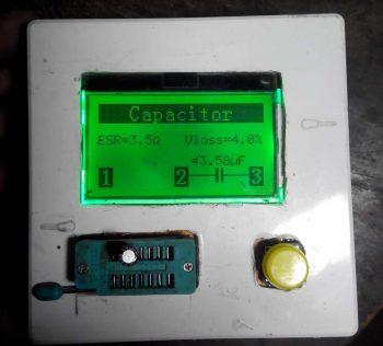 ESR конденсатора 47мкф на 25в