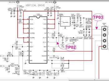 Схема кадровой STV3781