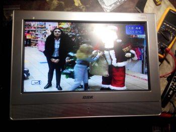 Телевизор в работе