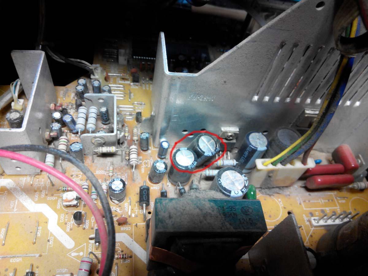 Микросхема кадровой развертки телевизора фото 887