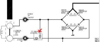 Схема включения позистора на 3 ноги