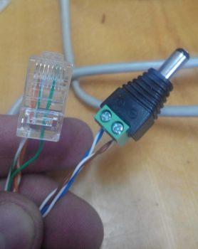готовые коннектора со стороны камеры