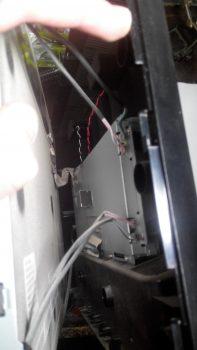Отключение ламп подсветки монитора.