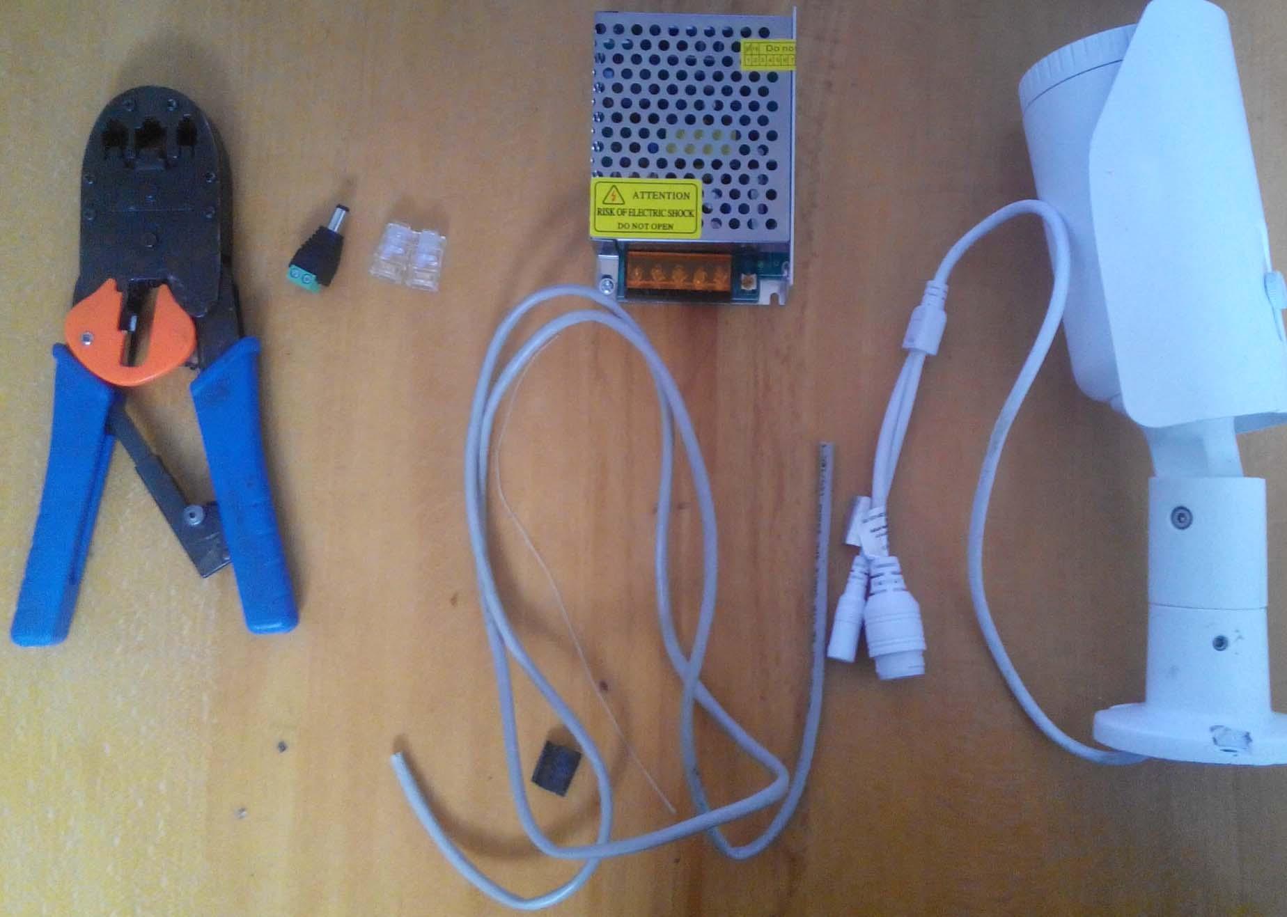 схема подключения rj-45 по 4 провода
