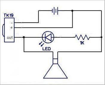 Схема тестера пультов