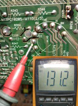 Проверка катода зеленого цвета (KG)= 131,2