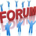 Открытие форума