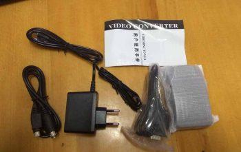 Комплектация конвертера RCA VGA