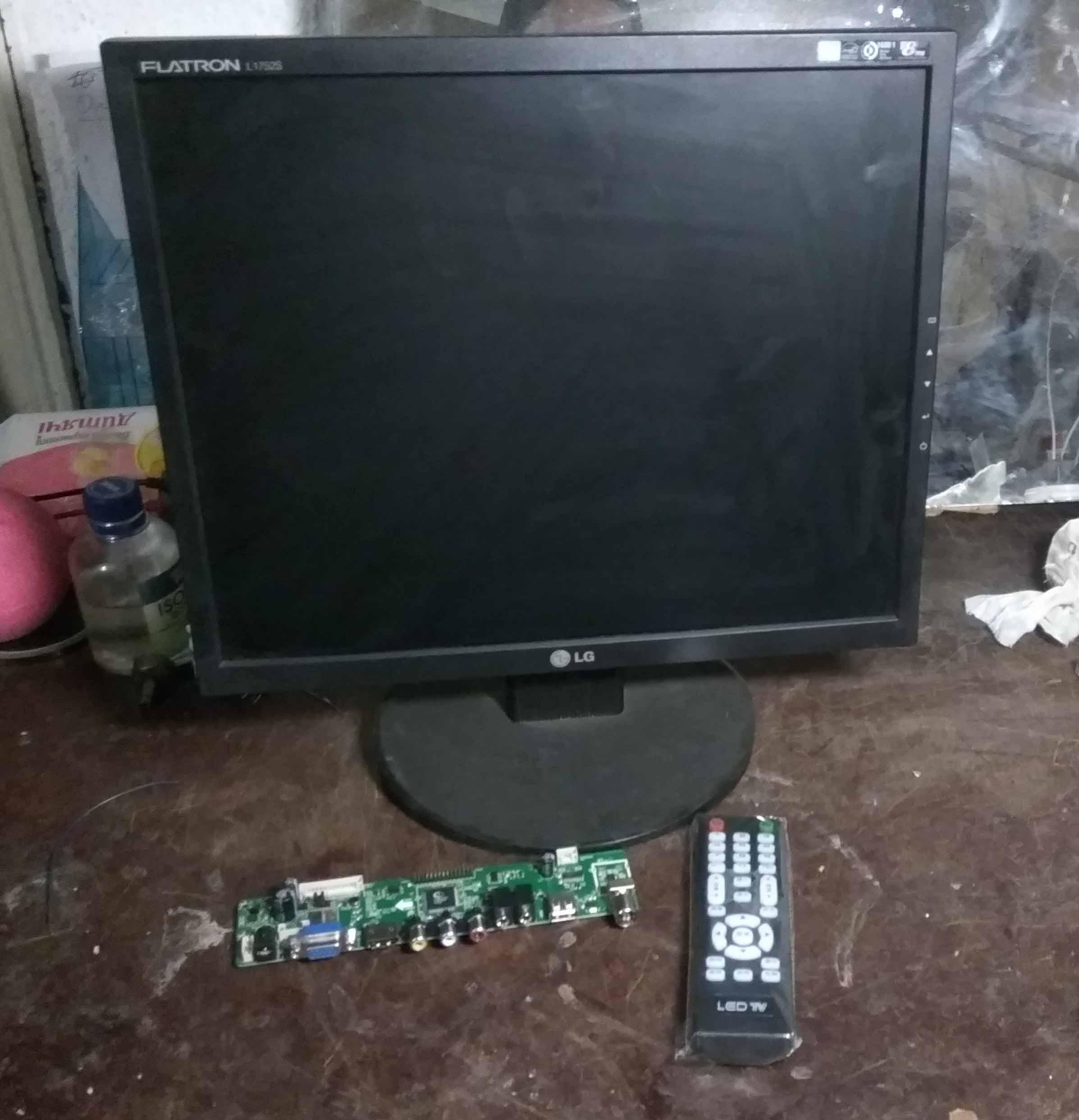 Схема подключения монитора как телевизор