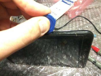 Разборка корпуса планшета