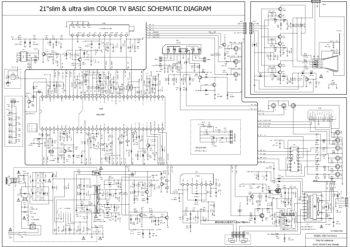 Схема шасси T08-T19-KVS-S