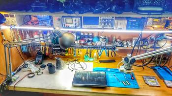 Рабочее место телемастера